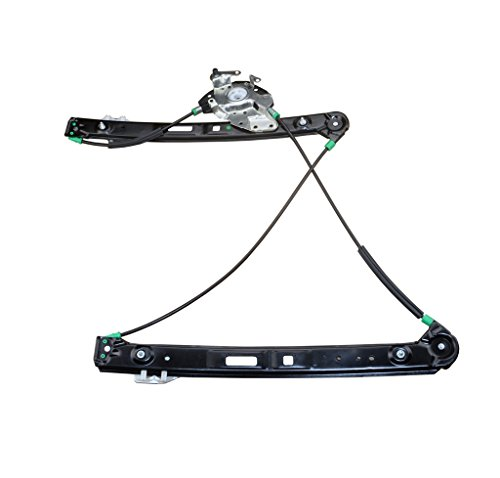 A-Premium Power Window Regulator Without Motor for BMW E46 323i 325i 325xi 328i 330i 330xi Front Right Passenger Side (Sedan Power Window Motor)