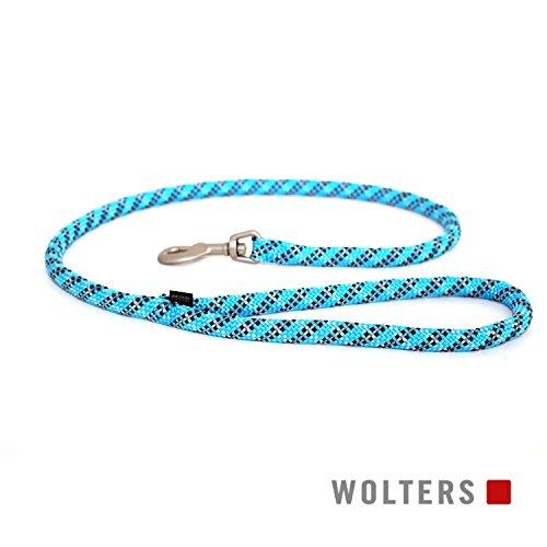 Wolters | Cityleine Everest reflektierend aqua/schwarz | L 100 x B 1,3 cm