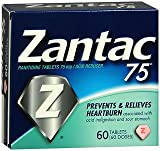 Zantac 75 Tablets - 60 ct, Pack of 6