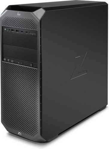 HP Z6 G4 Intel® Xeon® 3104 16 GB DDR4-SDRAM 256 GB SSD Negro Torre Puesto de Trabajo - Ordenador de sobremesa (1,70 GHz, Intel® Xeon®, 3104, 16 GB, 256 GB, Windows 10 Pro for Workstations)