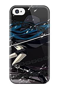 Hot Tpye Black Rock Shooter Case Cover For Iphone 4/4s