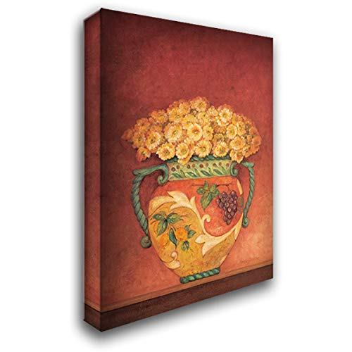 Pamela Gladding Tuscan Bouquet - Tuscan Bouquet I 28x38 Gallery Wrapped Stretched Canvas Art by Gladding, Pamela