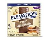 Elevation by Millville Caramel Nut Endulgent Bars 6oz(1.2oz x 5 bars) , pack of 1