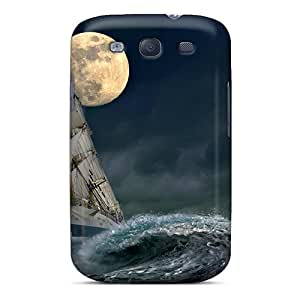 New Arrival Premium S3 Case Cover For Galaxy (sailing Under A Full Moon)