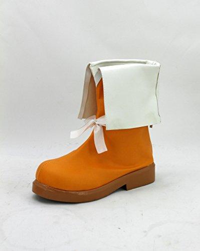 206bbd9a74228 Amour Vivre Jour Ensoleillé Chanson Rin Hoshizora Cosplay Chaussures Bottes  Sur Mesure ...