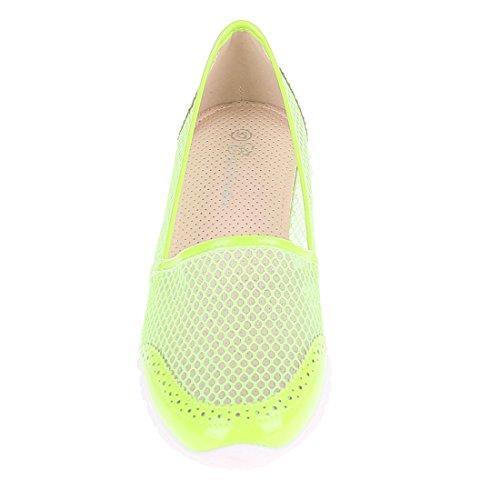 CATISA-BK3_WH759-Basket-Femme - Vert, 38