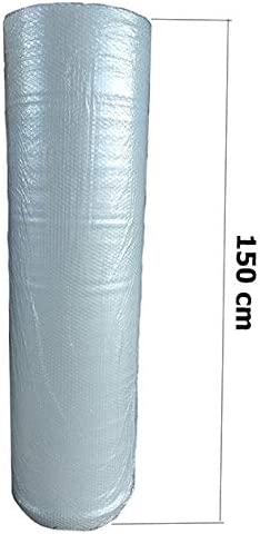 0,89€//m 10 Meter Lang 50 cm breit Luftpolsterfolie 10m 60my Pflanzenschutzfolie