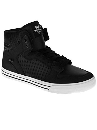 Homme Vaider Black Sneakers Hautes Supra XF7HwqZH