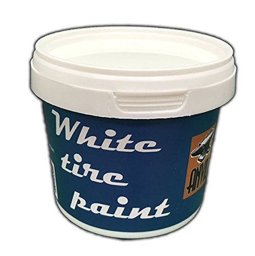Anvil White Wall Tire Paint - 250ml by Anvil (Image #3)