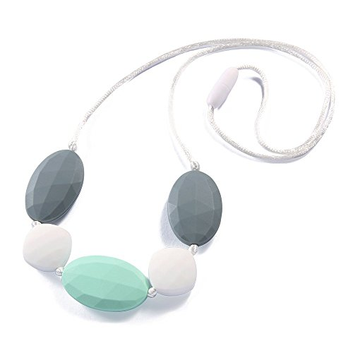 Silicone Teething Necklace - Baby Safe For Mom To Wear - BPA
