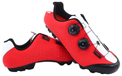 LUCK MTB Eros fietsschoenen met dubbele draaisluiting van hoge precisie.