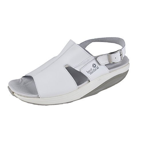 Schuhmarketing Blanco Mujer obstruir Blanco Médicos Zapatos HSM Ocupacional Best gBqwBva
