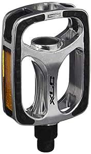 XLC pedal City/Comf.PD-C03 SBPlus Alu revest.c.goma, c.plata/negro,SB Plus