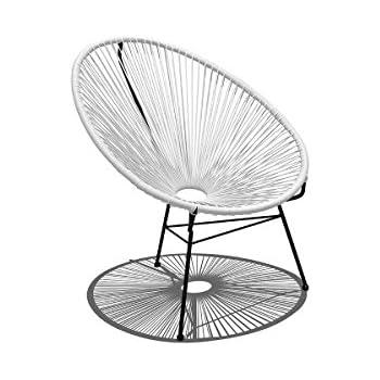 Charmant Harmonia Living HL ACA LC WLB Acapulco Lounge Chair, White Lightning
