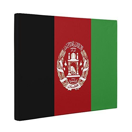 Afghanistan Flag Canvas Wall Art Home Décor Handmade