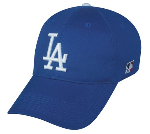 Los Angeles Dodgers YOUTH (Ages Under 12) Adjustable Hat MLB Officially Licensed Major League Baseball Replica Ball (Los Angeles Dodgers 30 Ball)