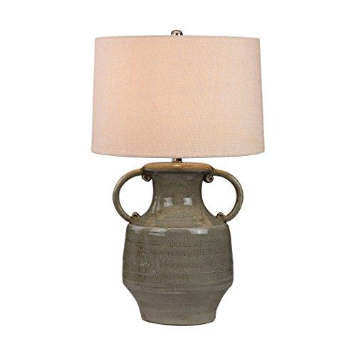 Manhattan Collection Glazed Amphora Lamp