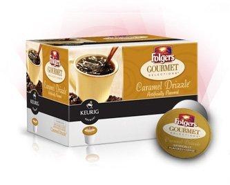 B006T3PSU4 Folgers Caramel Drizzle 96 Count Keurig K-cups 412BXRuivKBL
