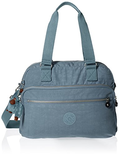 Kipling Women's New Weekend Solid Tote, Blue Bird by Kipling