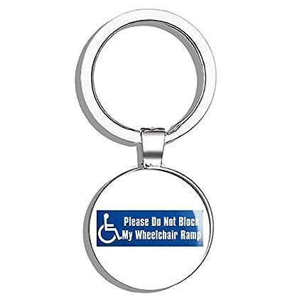 Amazon com: HJ Media Please Do Not Block My Wheelchair Ramp