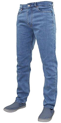G72 Hombres Denim Super Stretch Skinny Slim FIT Jeans Todos LOS TAMAÑOS DE Cintura Y PIERNAS Lavado de Piedra