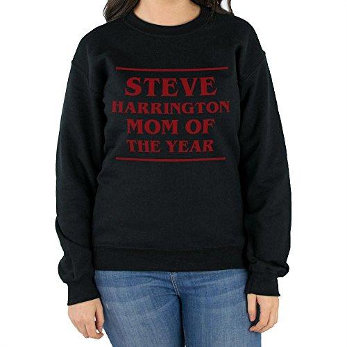 TeesAndTankYou Steve Harrington MOTY Sweatshirt Unisex Small (Fleece Screen Print Sweatshirt)