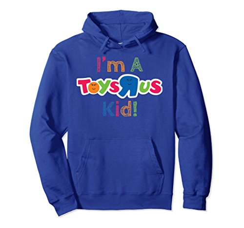 Unisex I'm a Toy Store Kid Still Growing Up Happy Face Color Hoodie Small Royal (Happy Shirts T-shirt Sweatshirt)
