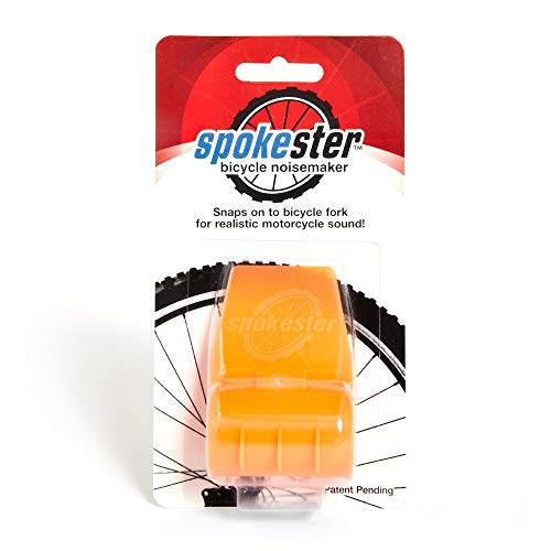 SPOKESTER Playtrix Bicycle Noise Maker - Makes Your Bike Sound Like a Motorcycle