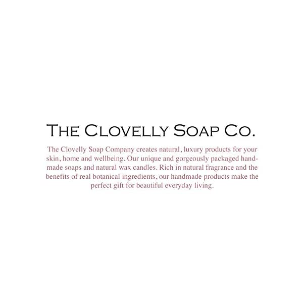 Clovelly Soap Co Handmade Peppermint Natural Soap on a Rope Bar For All Skin Types 100g