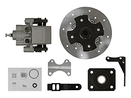 SuperATV Utility ATV Rear Disc Brake Conversion Kit for Honda 2x4 4x4 - See Fitment Brake Bleed Conversion Kit