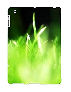 New Style Tpu 2/3/4 Protective Case Cover/ Ipad Case - Green Grass