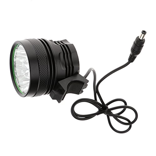 MagiDeal 5000-600LM 3 Modes 12LED XM-L T6 Lamp Bike Bicycle Headlight Cycle Headlamp by MagiDeal