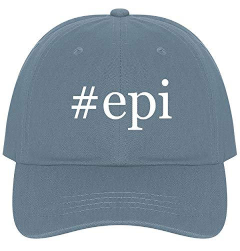 The Town Butler #epi - A Nice Comfortable Adjustable Hashtag Dad Hat Cap, Light Blue, One Size