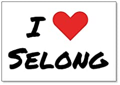 I Love Selong, Indonesia Explore the world and reminisce over travel with this classic high quality fridge magnet. Refrigerator magnets add style to your fridge and reflect your personality. Style up your fridge with our unique collection of ...