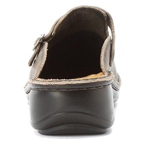 Naot Kvinna Aster Mule Vintage Grå Läder