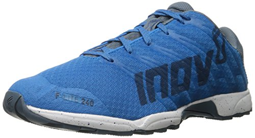 Inov-8 Men's F-Lite 240-M Cross-Trainer Shoe, Blue/Grey/White, 12.5 M US