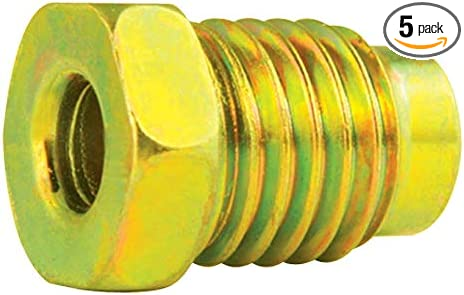 "Metric Brake Line Adapter 11mx1.5 Male to 3//8-24 Female for 3//16/"" 4.7mm Tube"