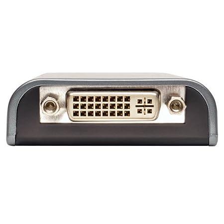 128 MB SDRAM U244-001-VGA-R Tripp Lite USB 2.0 to VGA Dual//Multi-Monitor External Video Graphics Card Adapter 1080p