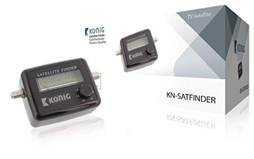 Konig electronic satellite finder instructions.