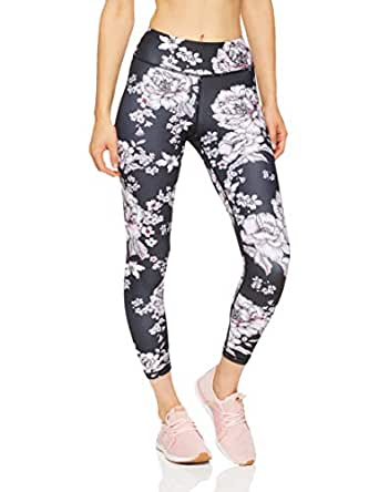 Dharma Bums Women's Sweet Dreams High Waist Printed Legging - 7/8, Multicoloured, Extra Small