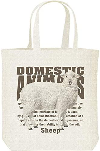 エムワイディエス(MYDS) ヒツジ(羊)<飼育動物・家畜/キャンバス M トートバッグ
