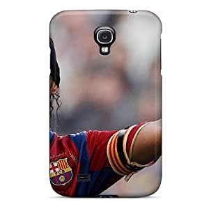 S4 Scratch-proof Protection Case Cover For Galaxy/ Hot The Halfback Of Atletico Mineiro Ronaldinho Phone Case