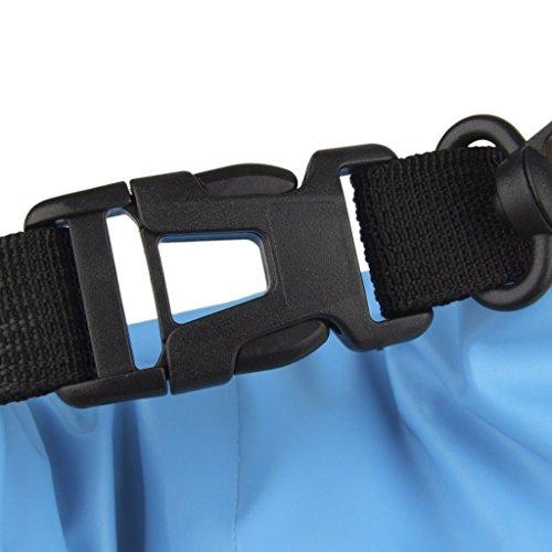 maltonyo17Wasserdicht Dry Bag Tasche für Camping Kayaking Dejeuner Angeln Rafting Kanu fahren (blau 5l)