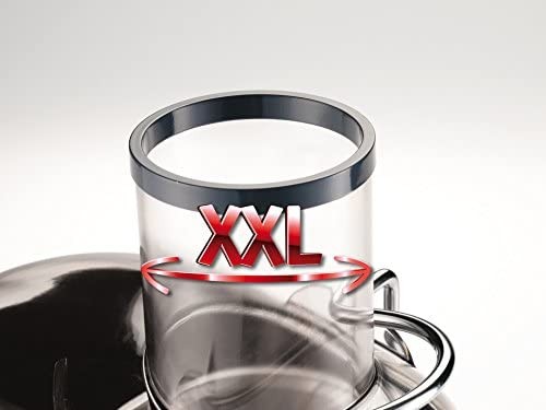 Moulinex JU655H Entsafter XXL mit 1200 W champagne grau