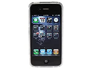 Monoprice TPU Case for iPhone 4/4S, Retail Packaging, Clear