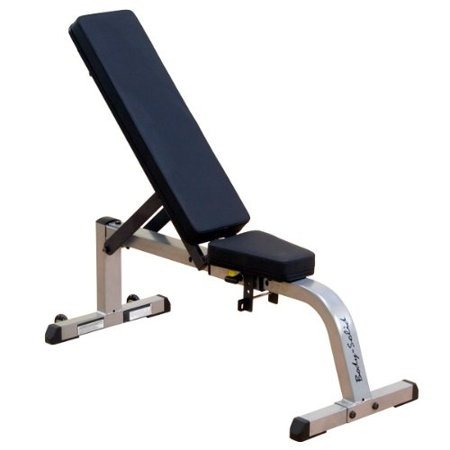 Body-Solid Heavy Duty Flat Incline Bench by Ironcompany.com