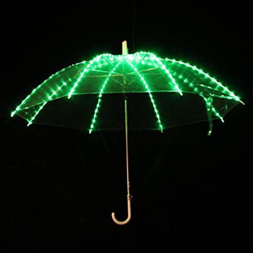 Prestazioni Wqwlf Del Size Led La Accessori One Per onesize Di Danza Ombrello Illuminazione A Green Ventre Puntelli Colorato rx8rOwqZ