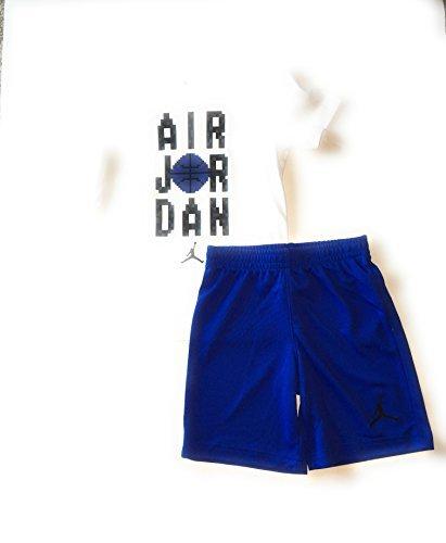 Jordan Air Little Boys T-Shirt and Shorts Set Hyper Royal Size 6 by Jordan
