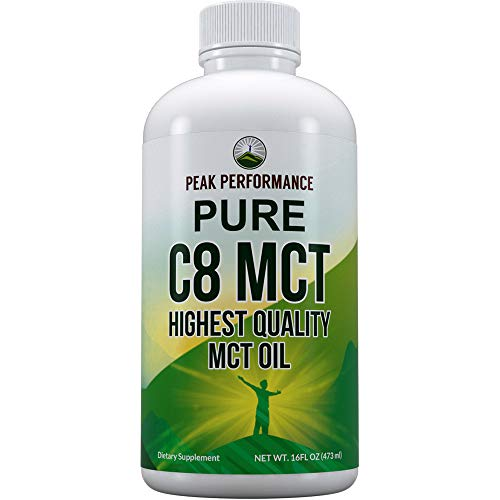 Peak Performance MCT Oil 16oz product image