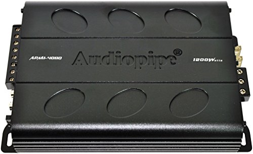 Audiopipe APMI4080 4CH 1200W Amplifier